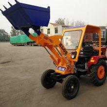 新款建筑工地小型装载机 沙子石子推土机 粮库堆粮食用的小型铲车
