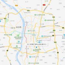 黄冈地图排名高德腾讯微信百度地图点击详情