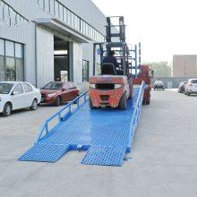 集装箱装卸货平台 大吨位货物装卸平台 移动式登车桥 手动液压登车桥