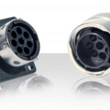 Souriau UTG系列 带金属锁紧装置的塑料圆形连接器独特设计端子技术重型应用领域