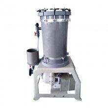 耐酸碱电镀液过滤机 耐铬酸过滤机 盐酸溶液中杂质过滤 耐腐精密过滤