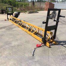 厂家定制混凝土路面框架振动梁 3-16米都可拼接框架整平机振动梁