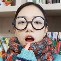 经典复古圆形眼镜框 阿拉蕾可爱眼镜架 哈里波特眼镜无镜片8803