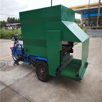 庞泰撒料车发货直达当地县城/喂料车加宽轮胎更防滑