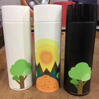 个性保温杯UV平板打印机 3D浮雕保温杯万能印花机