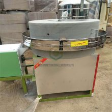 供应面粉石磨芝麻香油机 流动花生酱石磨机