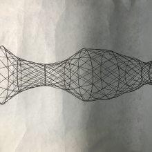 紫薇花瓶骨架 树艺编织造型视频 花瓶骨架尺寸