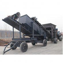 反击破移动破碎车 铜矿石铁矿石行走式制砂机 履带式移动破碎站设备厂家