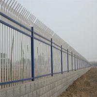 学校防爬围墙栅栏 耐候型墙体护栏 建筑工地护栏价格