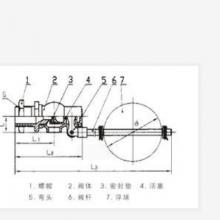中西供应浮球阀(全铜)DN25 型号:H724X-4T(DN25)库号:M331437
