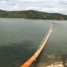 闸口悬浮式拦污浮漂 直径20公分塑料浮体_河道拦污用什么好?