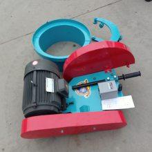 卡箍式混凝土切桩机 厂家直销电动路面锯桩机 抱箍式桩头切割机