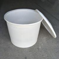 600L塑料圆桶 食品级腌制发酵桶 滚塑pe牛筋塑料桶 600L耐摔耐磨储运周转桶