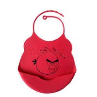 定制儿童围兜用品宝宝防水饭兜婴儿围嘴新生儿硅胶易清洗口水兜