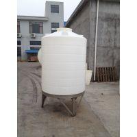 厂家直供10吨混凝土外加剂罐 10T立式碱水剂亚博app提款多久 PE运输罐