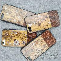 新款木纹苹果手机壳 TPU手机壳 新颖木纹保护套 手机壳批发