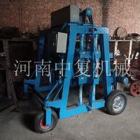 南宁小型移动u型槽预制机水槽瓦片机械