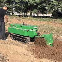 亚博国际真实吗机械 果园开沟机果树施肥机 履带式旋耕机微耕机 遥控式履带开沟机价格