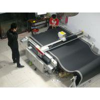 面料 服装 素面料高频振动刀切割裁剪机 自动送料裁床 厂家直销
