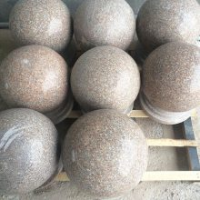 球形止车石哪家好-铁岭球形止车石-深圳石材厂家