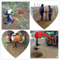 操作简单挖树坑机价格/立柱打孔打桩挖坑机/大功率汽油地钻机/果园施肥打坑机