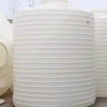 20T加厚PE圆柱型耐酸碱水塔批发价格 20立方食品水箱尺寸