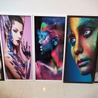 玻璃背景墙UV打印机 瓷砖影视墙万能UV印刷机 3D护墙板数码UV喷绘机
