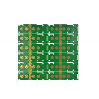 PCB电路板快速打样耐磨四层按键镀金板10麦硬金工艺
