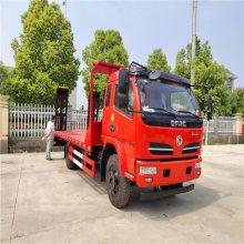 东风上黄牌拉120-135挖机板车价格 13吨中型挖机专用拖车卖多少钱