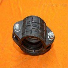百川100*114.3卡箍式柔性管接头L型 80*89卡箍式柔性管接头L型 厂家直销