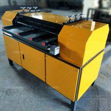 鑫鹏散热器拆分机发动机散热器回收专用拆解机操作流程