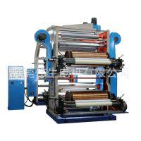 伟生直销:4色层叠式薄膜柔印机 半自动化柔印机