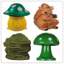 BSST卡通树脂艺术蘑菇音箱服务