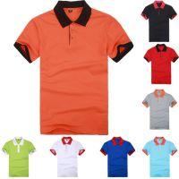 男式半袖夏装圆领纯棉t恤促销活动广告衫体恤衫多色多款供应