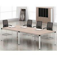简约职员实木办公桌 加长洽谈会议桌北欧办公室员工电脑桌定做