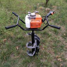 直销鸭脖app手机客户端下载两冲程汽油打桩机 双人操作打眼机 4.3马力果树种植挖坑机