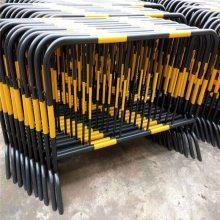 厂家加工铁马护栏 临边警示喷塑护栏 楼层施工围挡
