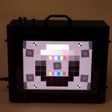 3nh三恩时可调照度色温T259000高照度透射式灯箱摄像头用图卡测试标准光源照明箱