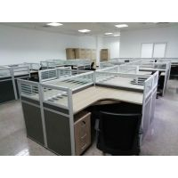 职员办公桌简约现代屏风桌员工桌卡位板式工作桌椅组合隔断办公家具