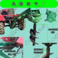 种树专用钻坑机械 手提式植树挖坑机 新款挖树窝机?