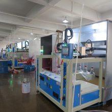 遥控器塑胶外壳喷漆设备 五轴伺服喷漆台往复式自动喷漆柜