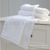 彩虹飞扬酒店宾馆客房纯棉加厚防滑吸水厂家直销棉垫吸水地巾