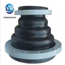 友瑞牌法兰橡胶软接头DN700PN1.0 JGD型橡胶软连接批发