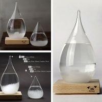 九猪创意天气预报瓶 水滴风暴瓶创意礼物玻璃工艺礼品批发厂家