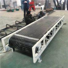 箱装粉皮装车输送机 移动式升降输送机 南瓜装卸车皮带机qk