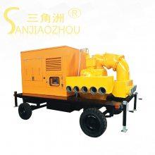 柴油机耐腐蚀离心泵KDZY300-400-50大流量快速真空辅助自吸柴油机泵三角洲牌