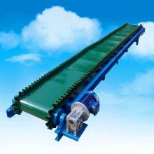 塑料厂装车皮带输送机 粮食装卸车传送带 16米长带式输送机