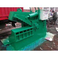 思路400吨箱式剪切机 鳄鱼剪切机工作视频 自动废铁切断机供应厂家