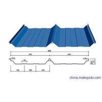 建筑屋面选用YX56-410-820型彩钢屋面板