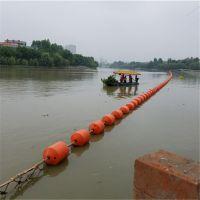 大距离水上漂浮物拦污漂排张力计算